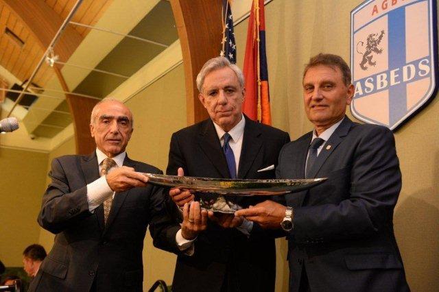 Former Foreign Minister of Armenia Vartan Oskanian Event 2014