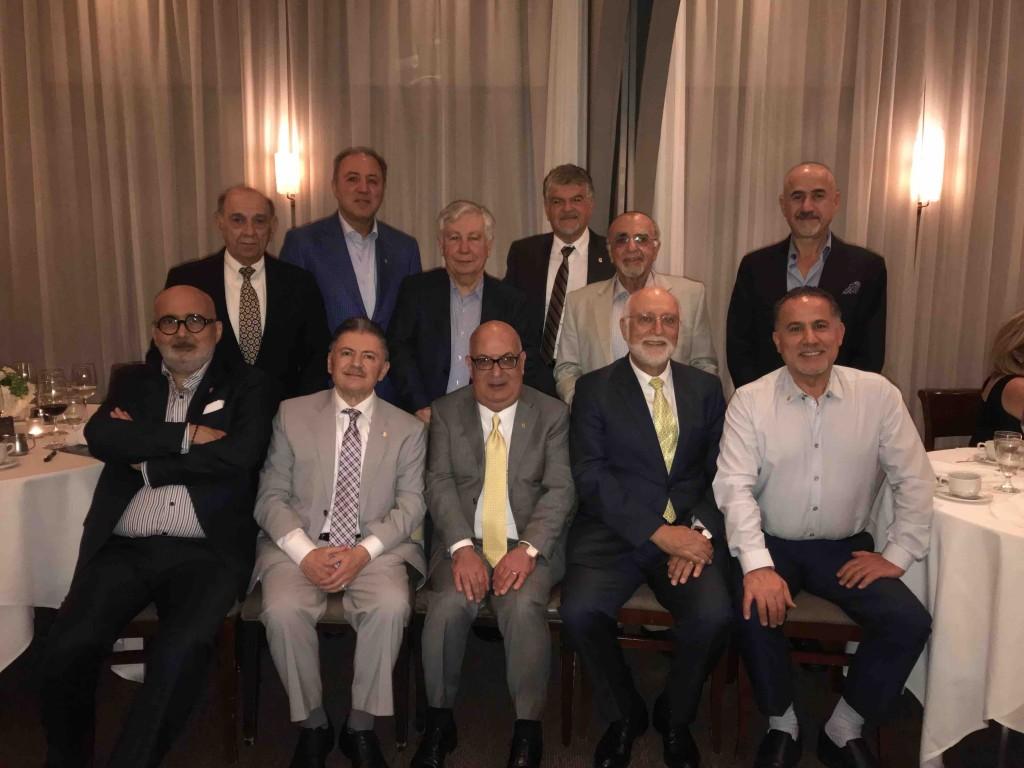 AGBU Asbeds with AUA President, Armen Der Kiureghian