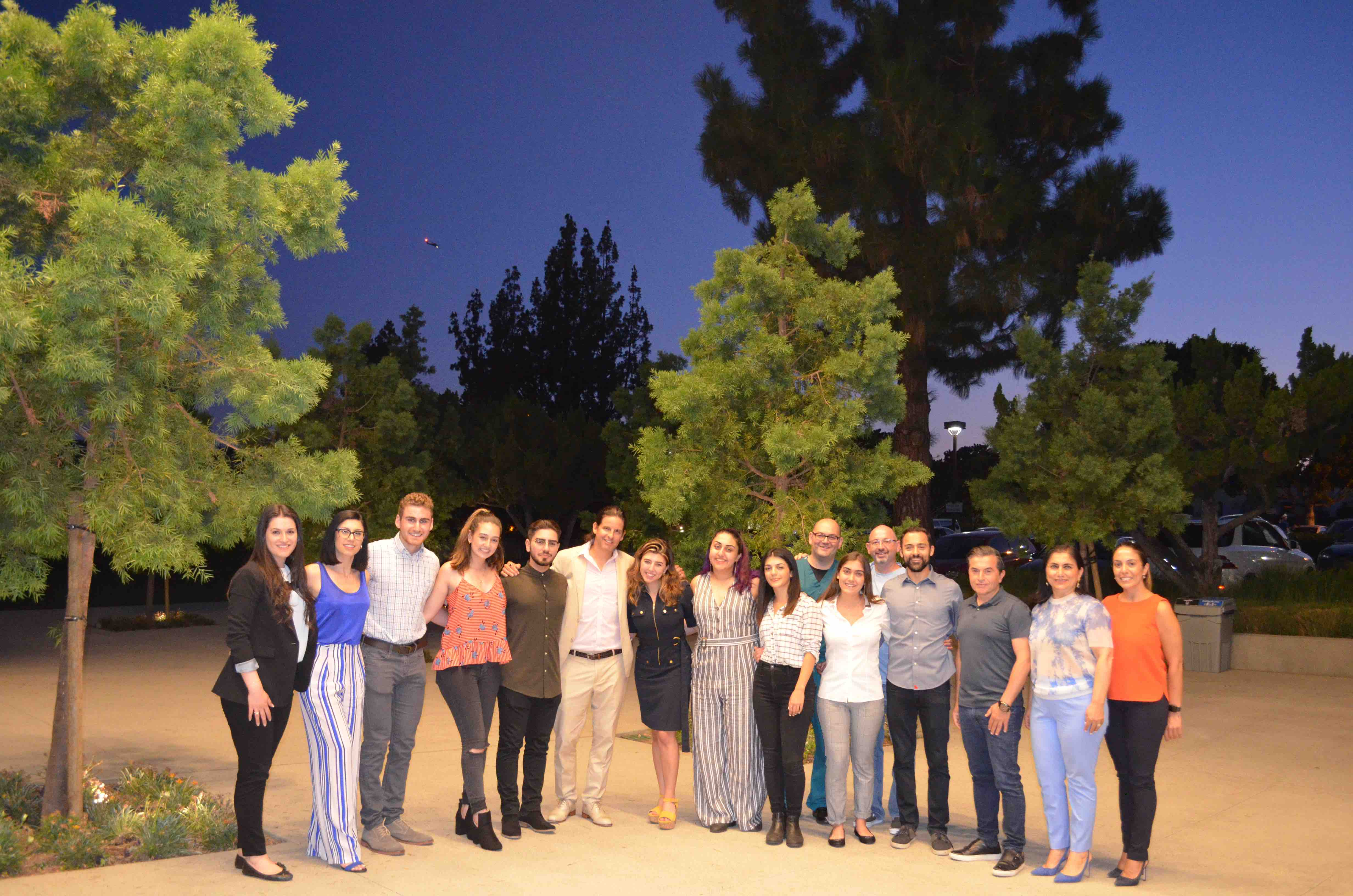 agbu concludes third year of the los angeles media internship program  lamip