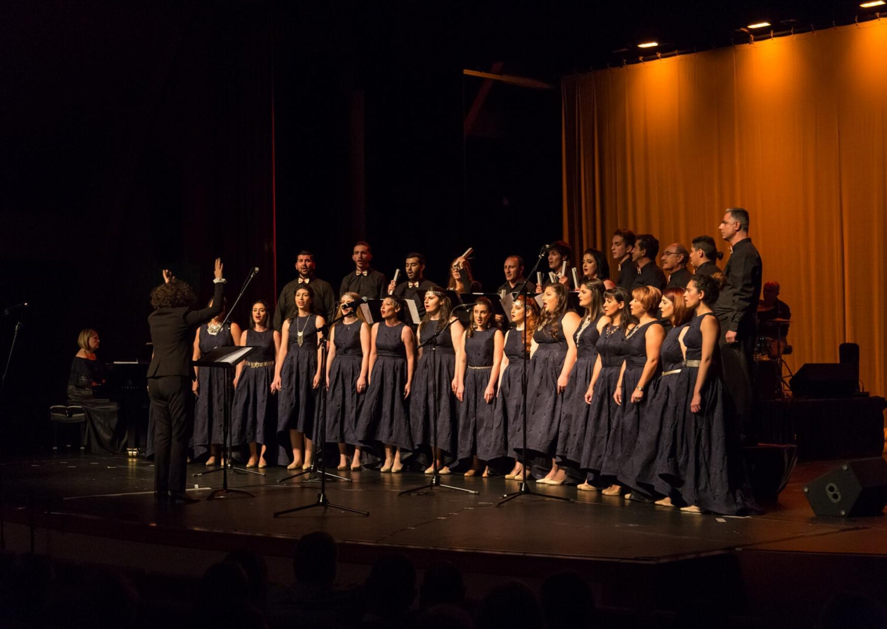 AGBU LA Choir's Impressive Debut Concert