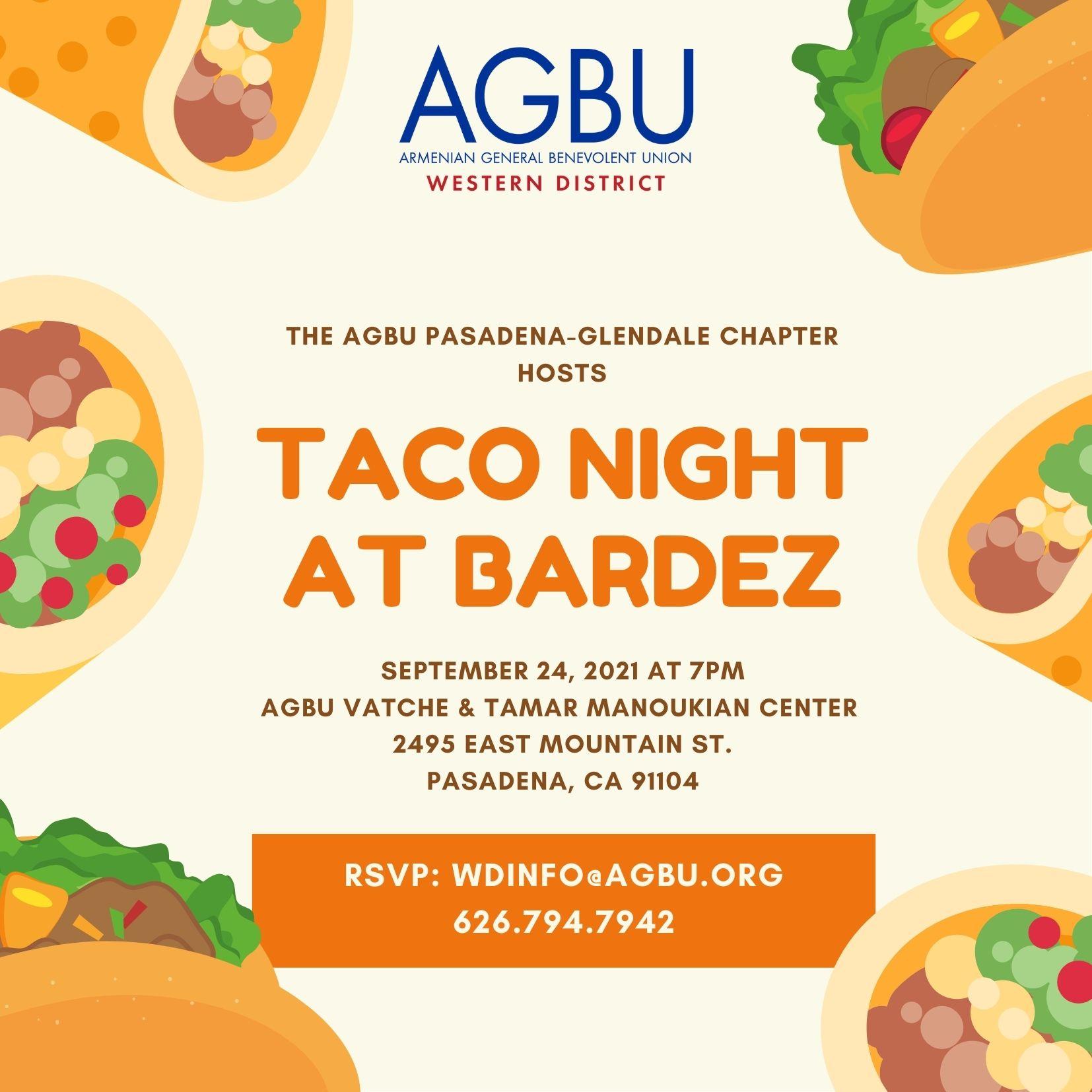Taco Night at Bardez